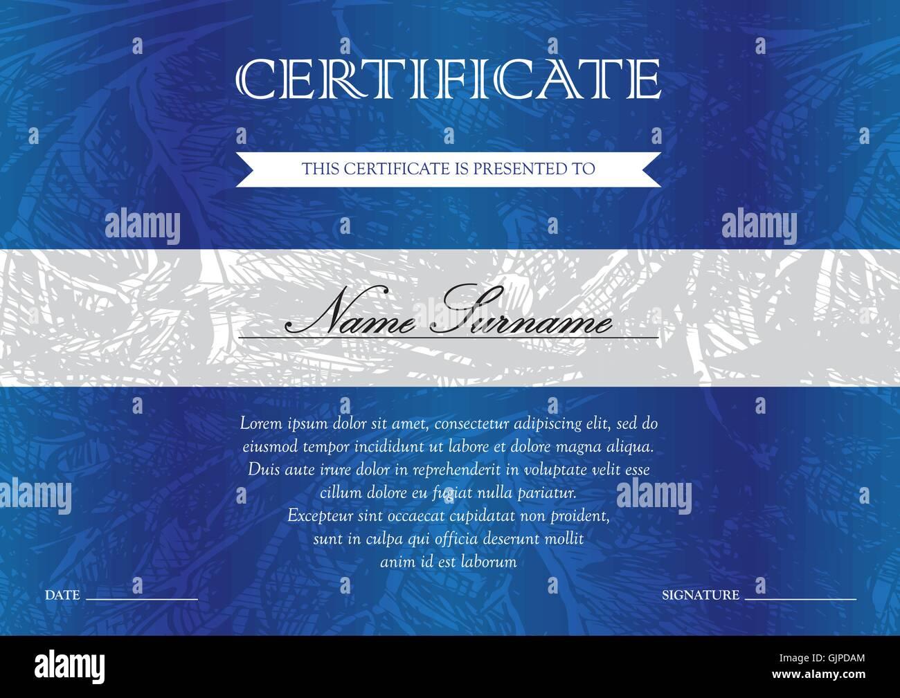 Nett Zertifikate Für Abschlussvorlagen Zeitgenössisch - Beispiel ...