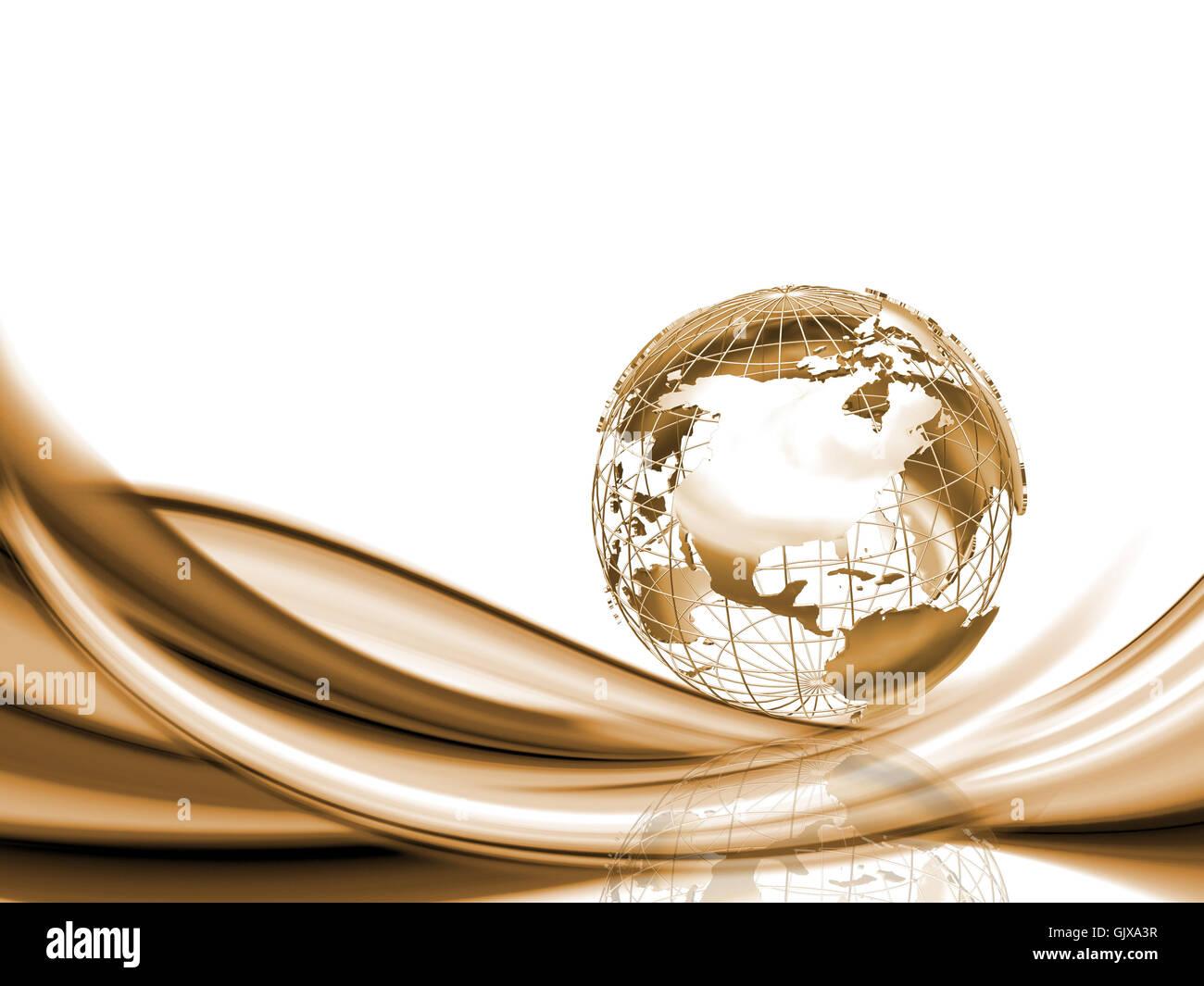 Kunst-Modell-design Stockbild