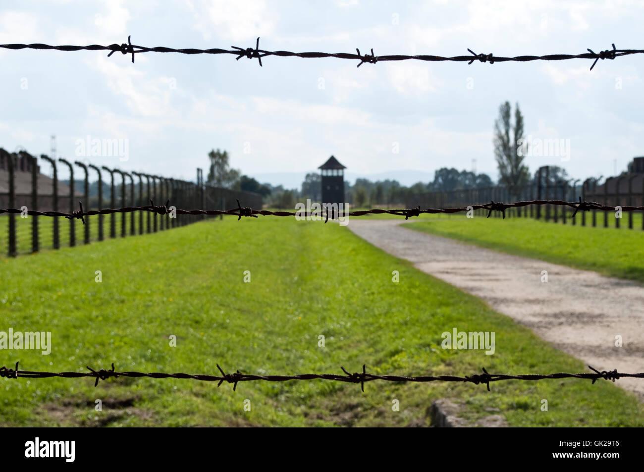 KZ-Polen Stockbild