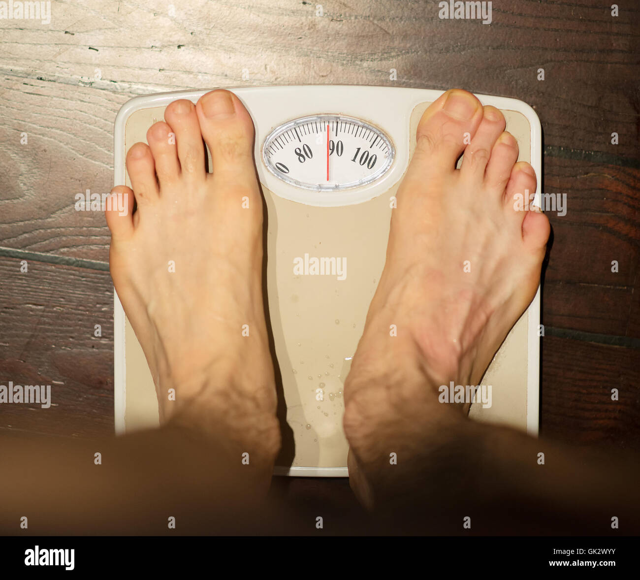 90 kg mann