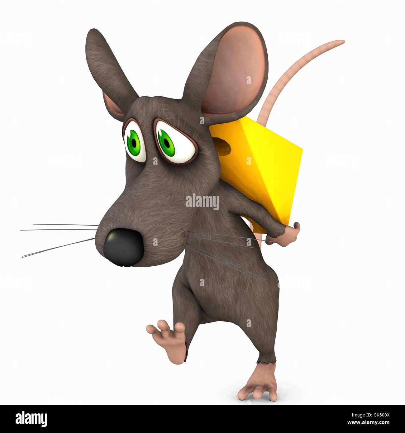 Toon-Maus Stockbild