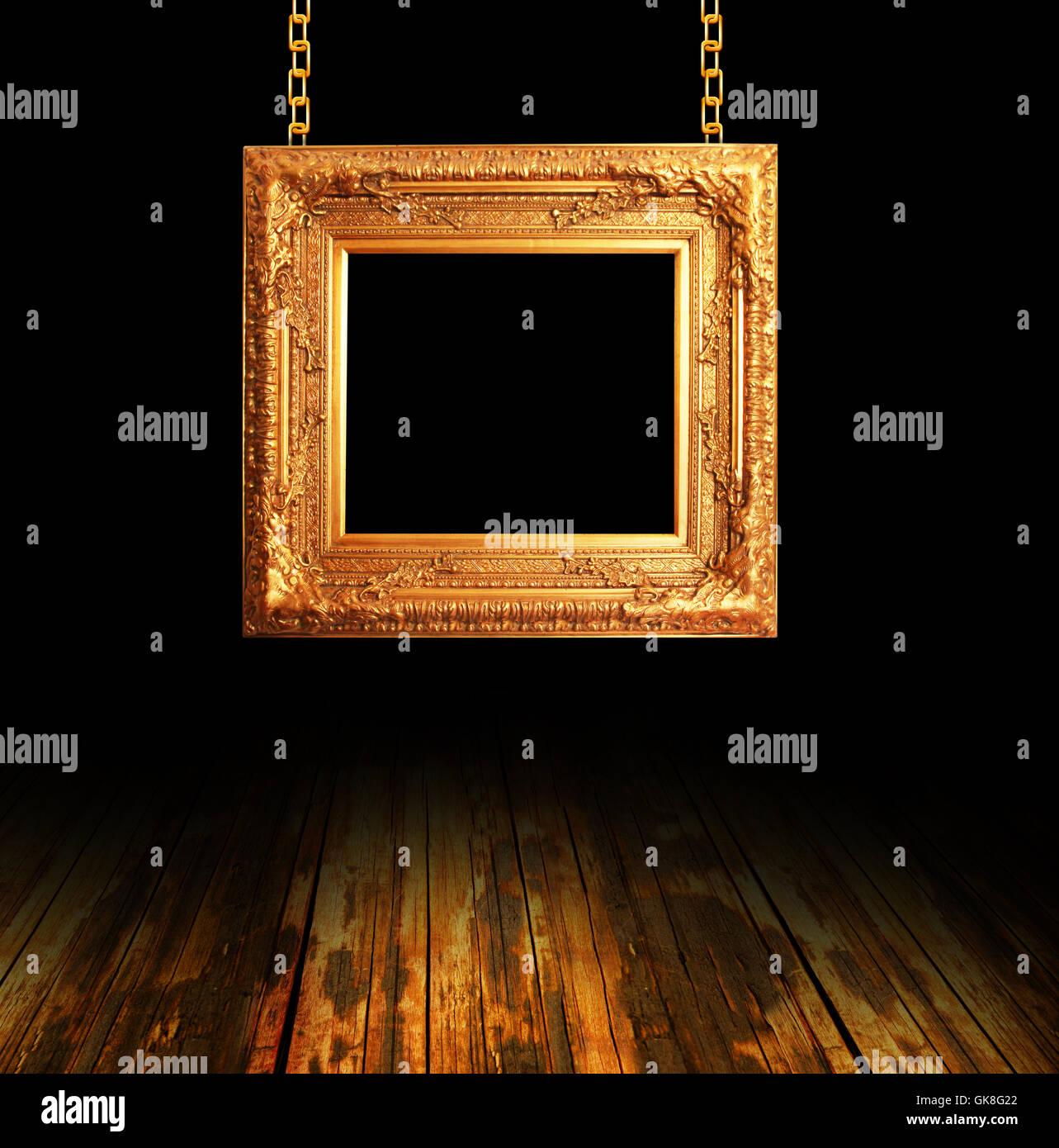 Picture Frame Border Framing Stockfotos & Picture Frame Border ...