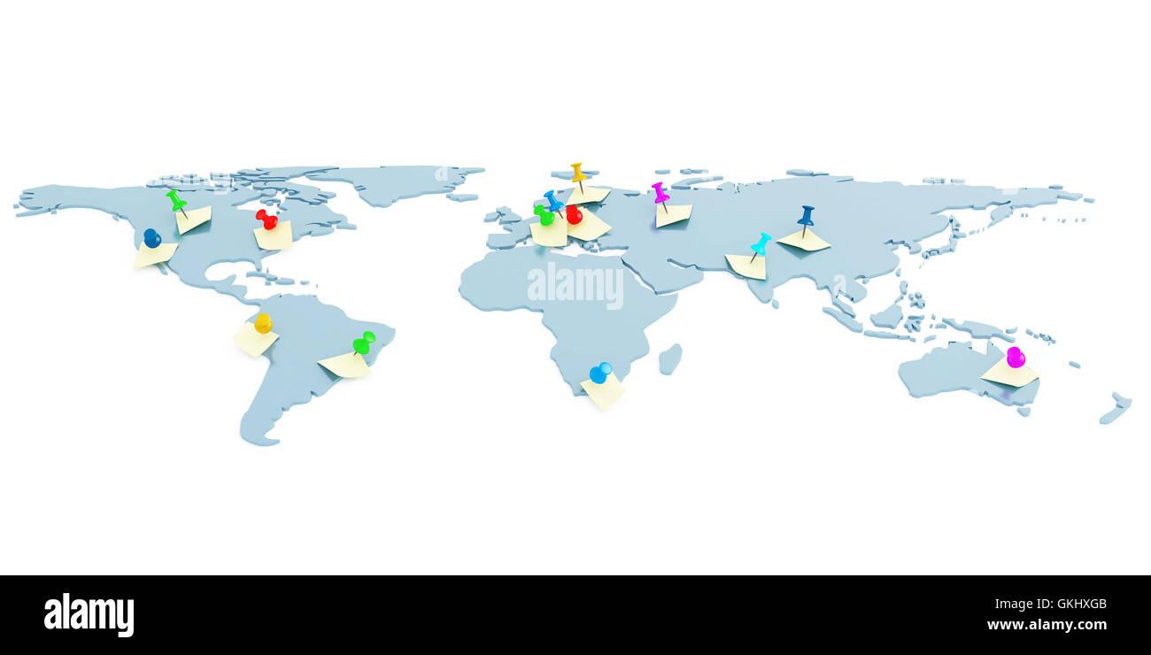 global map stockfotos global map bilder alamy. Black Bedroom Furniture Sets. Home Design Ideas