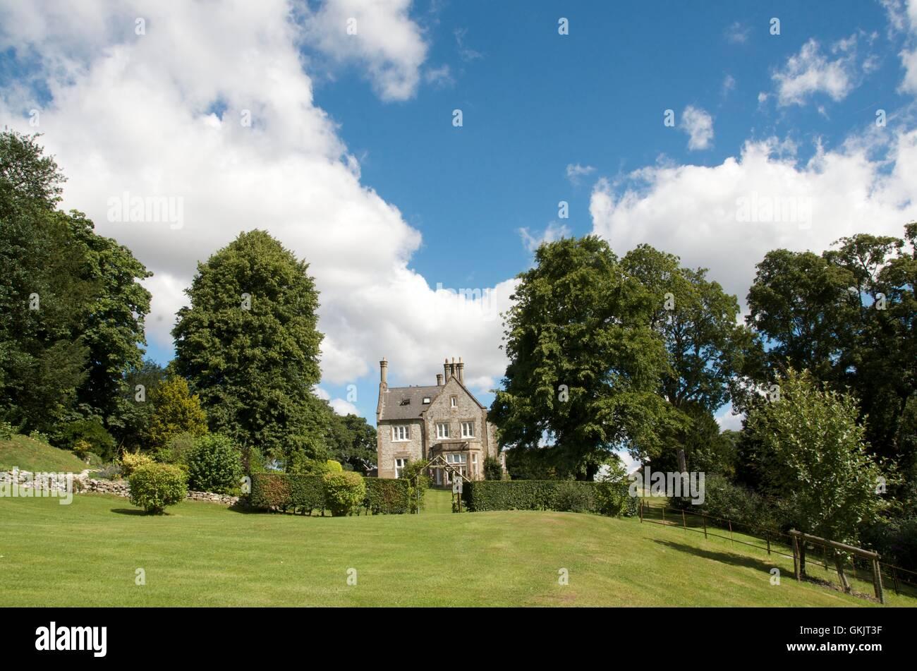 Schönes kleines Herrenhaus in Langrish Surrey England Stockbild