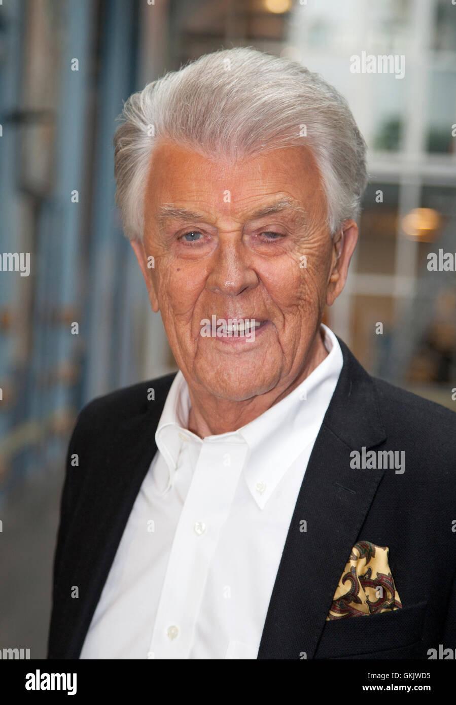 SVEN-BERTIL TAUBE Künstler und Schauspieler Stockbild