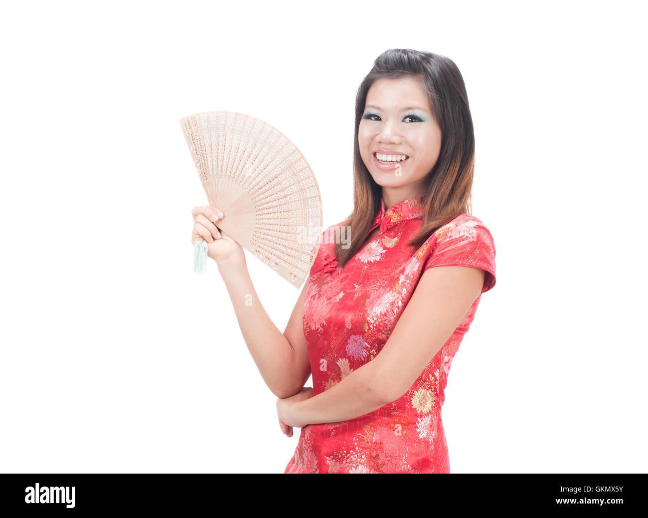 Malaysische chinesische mädchen aus