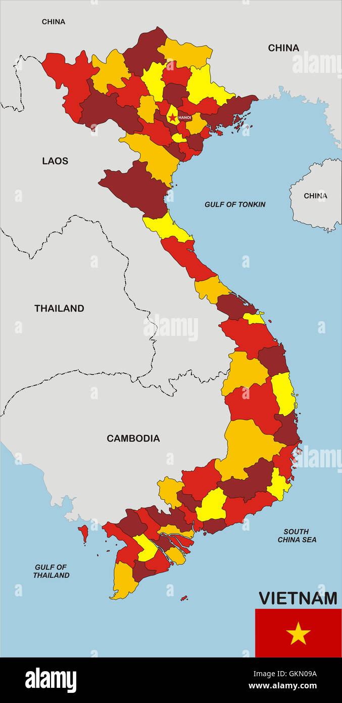 Vietnamkrieg Karte.Vietnam Map Vietnam Stockfotos Vietnam Map Vietnam Bilder Seite