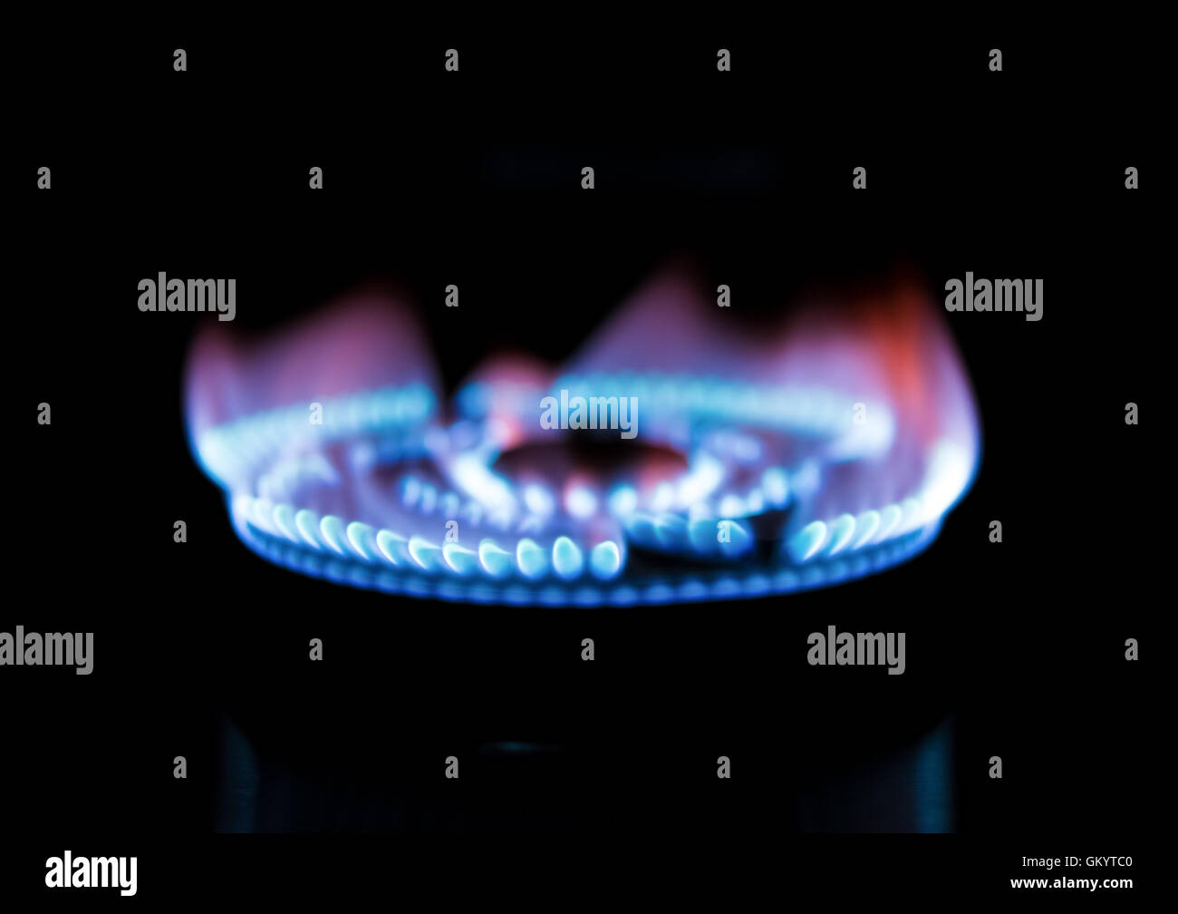 Gas Kochfeld Malerei : Gas burning stockfotos bilder seite alamy