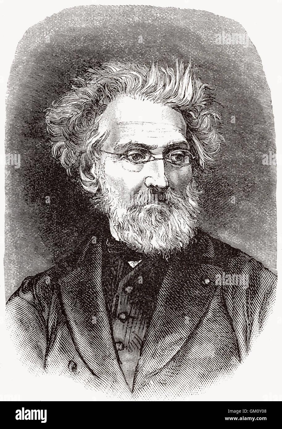 Léon Cogniet, 1794-1880, ein französischer Geschichte und Porträt-Maler Stockbild