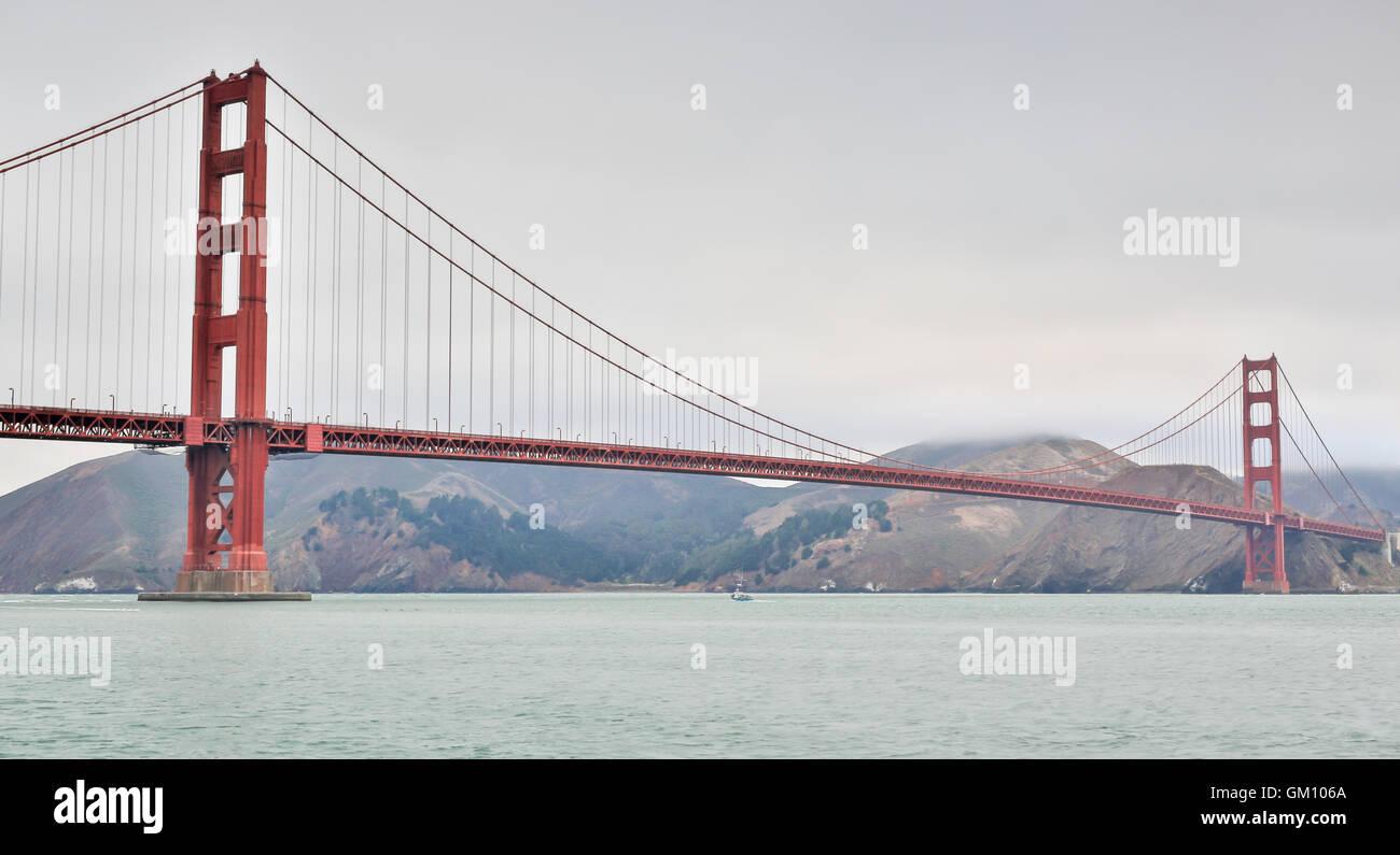 Golden Gate Bridge, San Francisco Stockbild