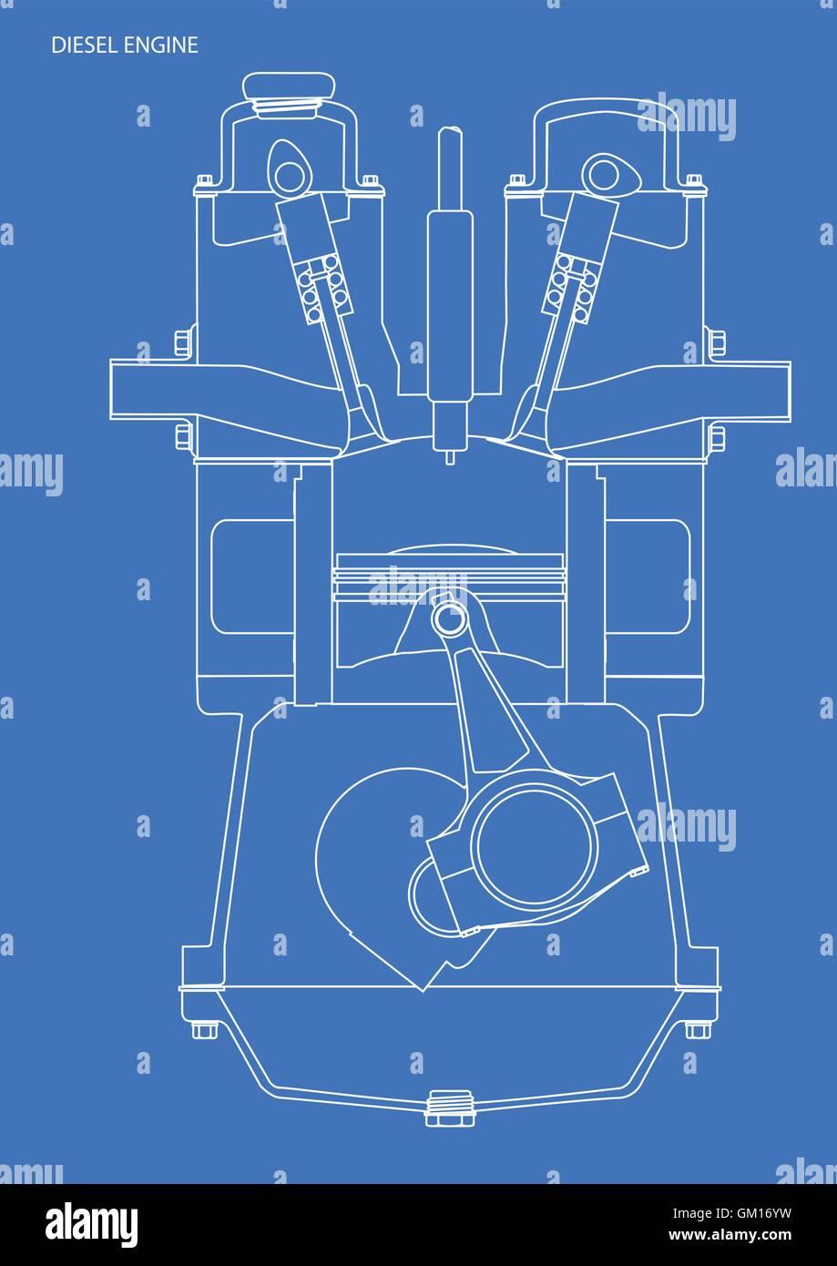 Charmant Blaupausen Symbole Elektrisch Fotos - Der Schaltplan ...