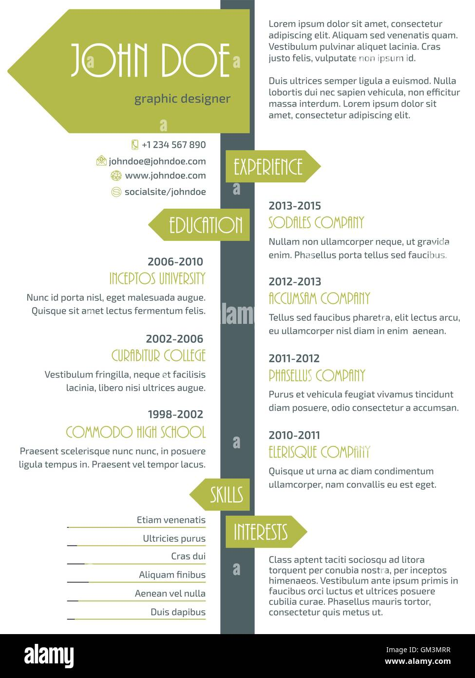 Business Timeline Infographic Arrows Paper Stockfotos & Business ...