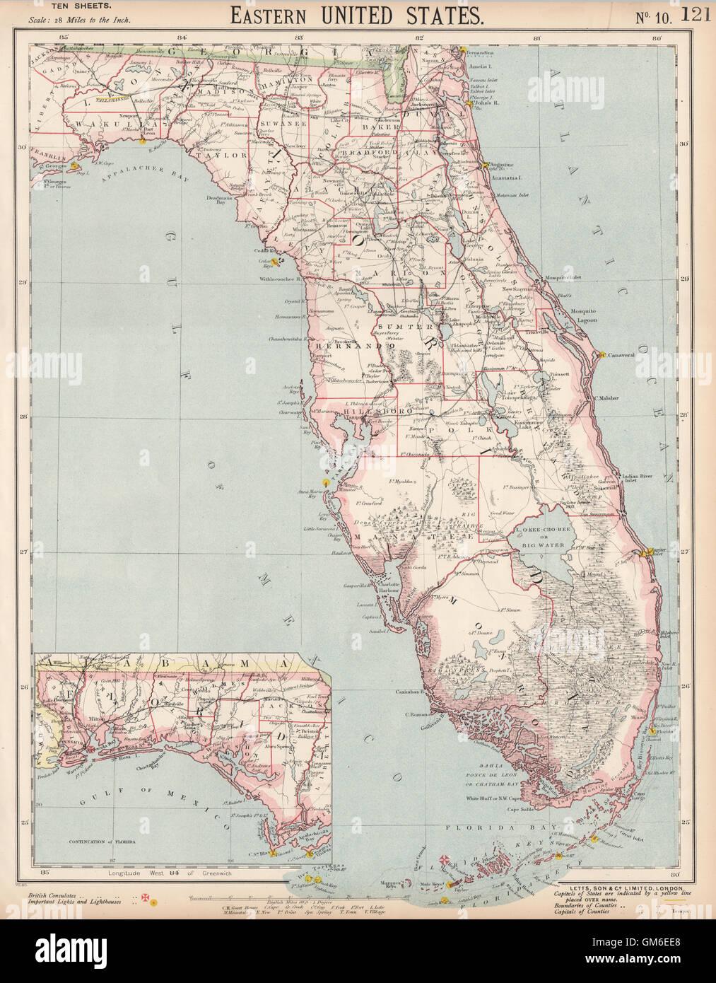 Miami Karte Stockfotos Miami Karte Bilder Alamy