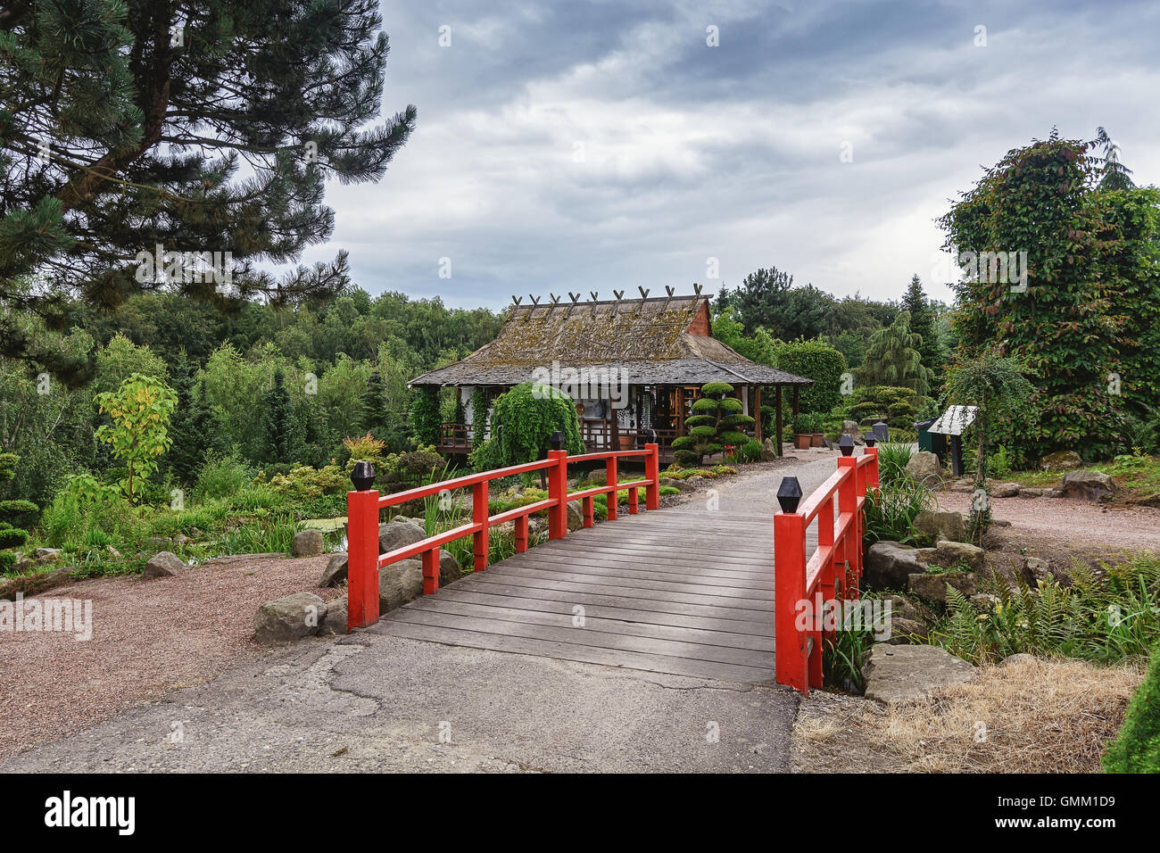 garden park teahouse stockfotos garden park teahouse bilder alamy. Black Bedroom Furniture Sets. Home Design Ideas