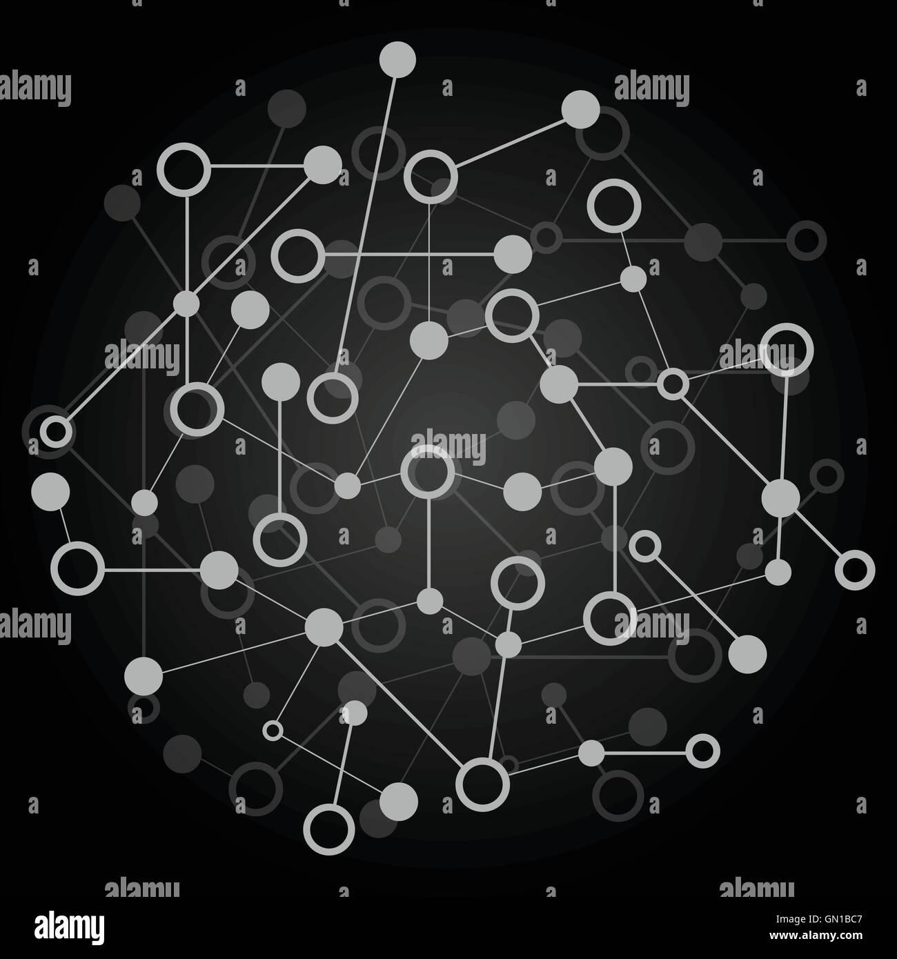 Zusammenfassung Hintergrund Mit Dna Strang Atom