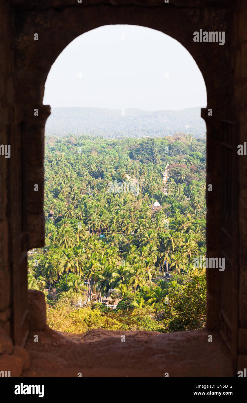 Chpora Fort Eingang Stockbild