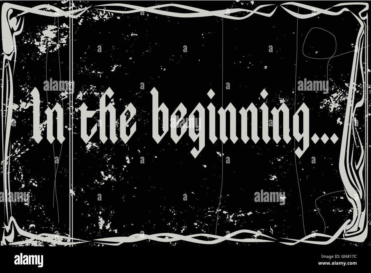 Stummfilm-Rahmen am Anfang Vektor Abbildung - Bild: 116346592 - Alamy