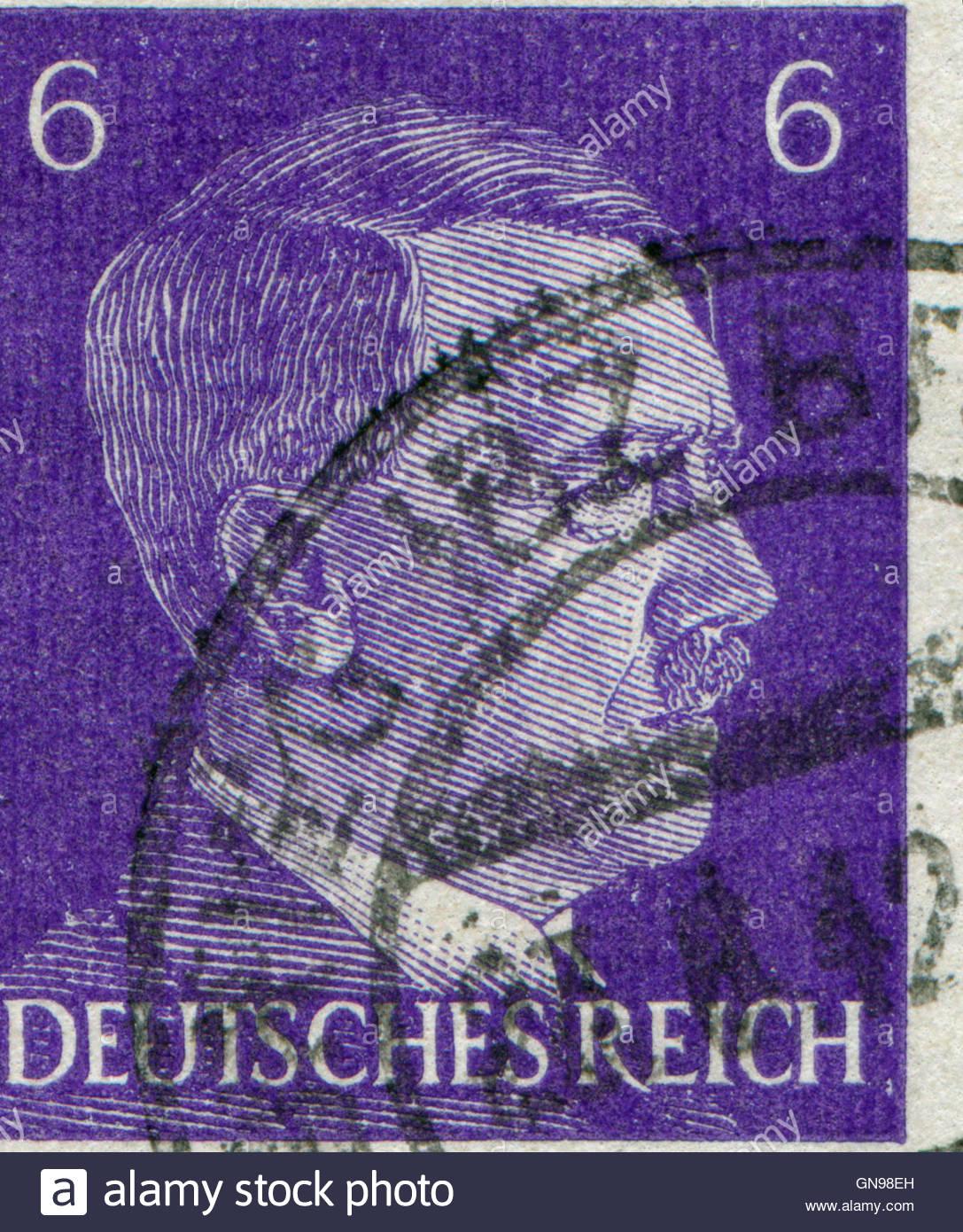 Brief Nach Hamburg Briefmarke : Deutschland ca eine briefmarke gedruckt in