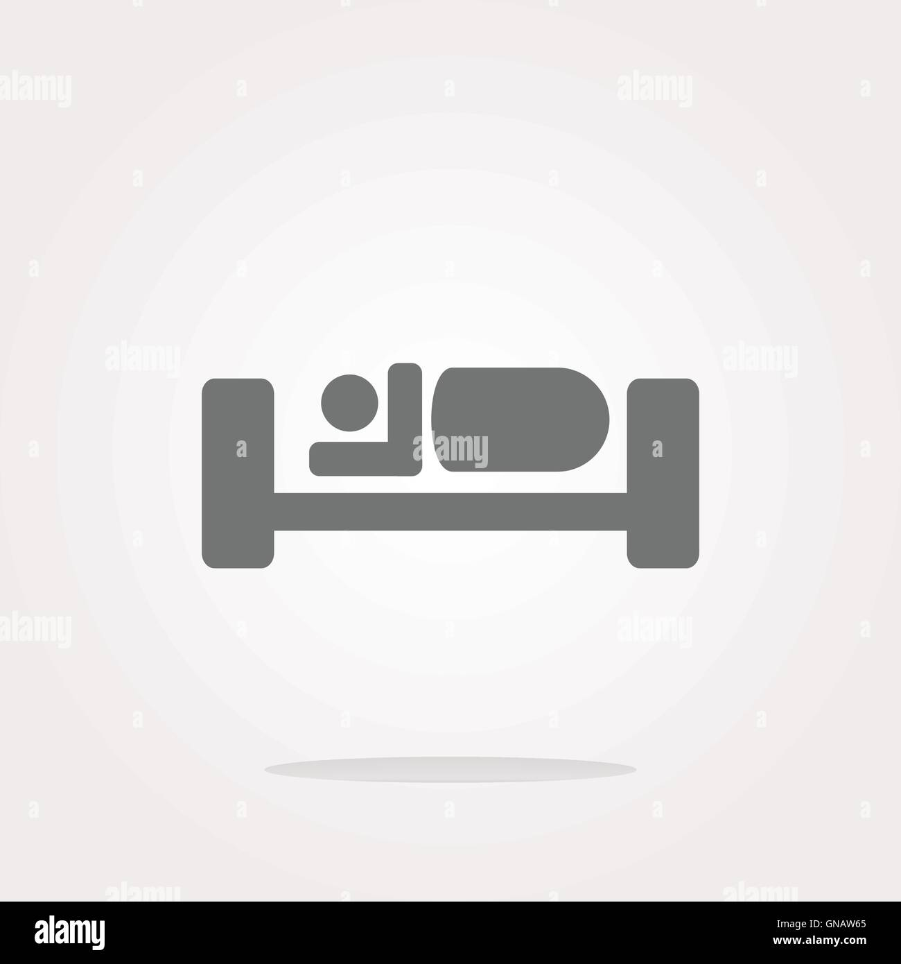 Bett Symbol Bett Symbol Vektor Bett Symbol Jpeg Bett Icon Objekt