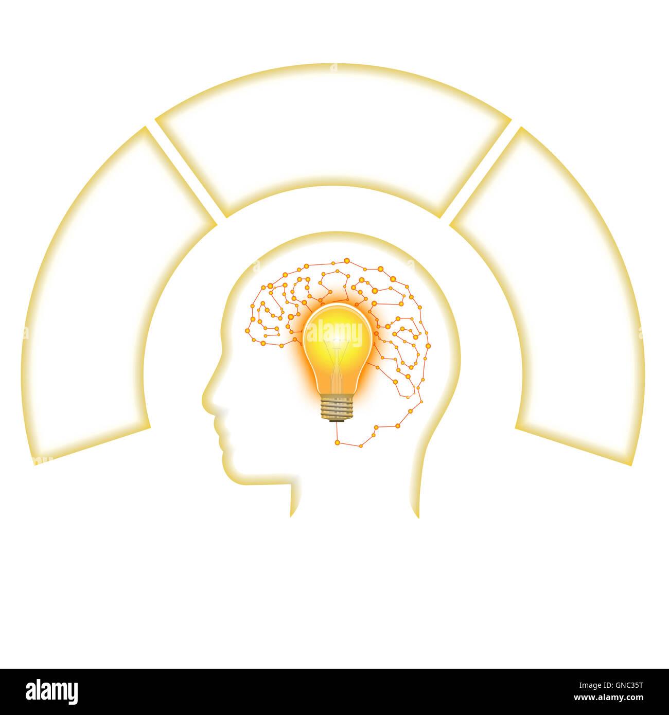 Tolle Markiertes Gehirn Diagramm Bilder - Menschliche Anatomie ...