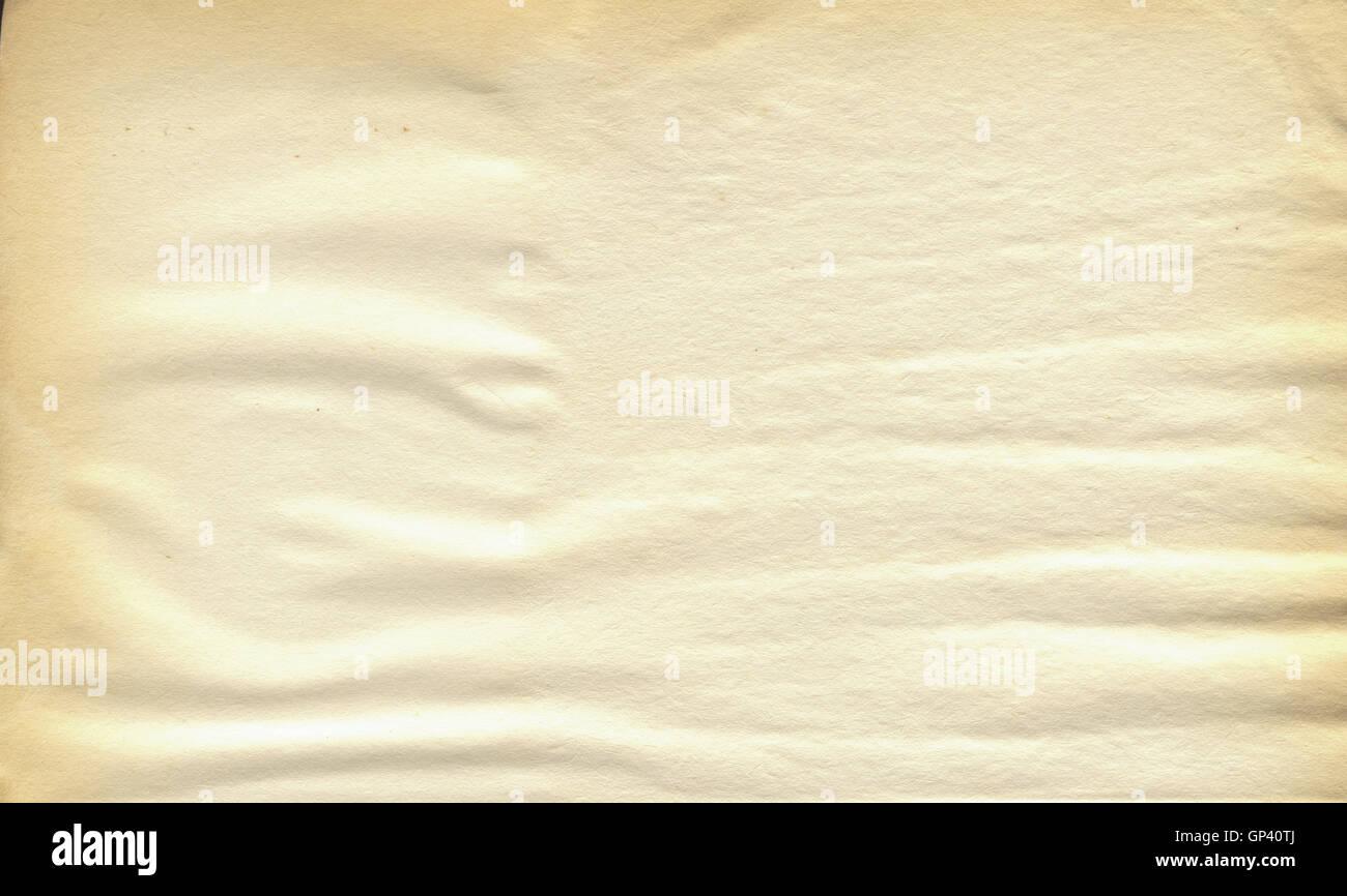 Leere alte Buch Seitenhintergrund Stockbild
