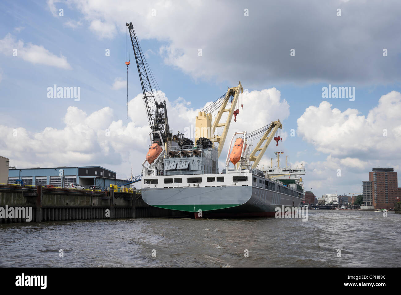 Hafen Hamburg Stockbild