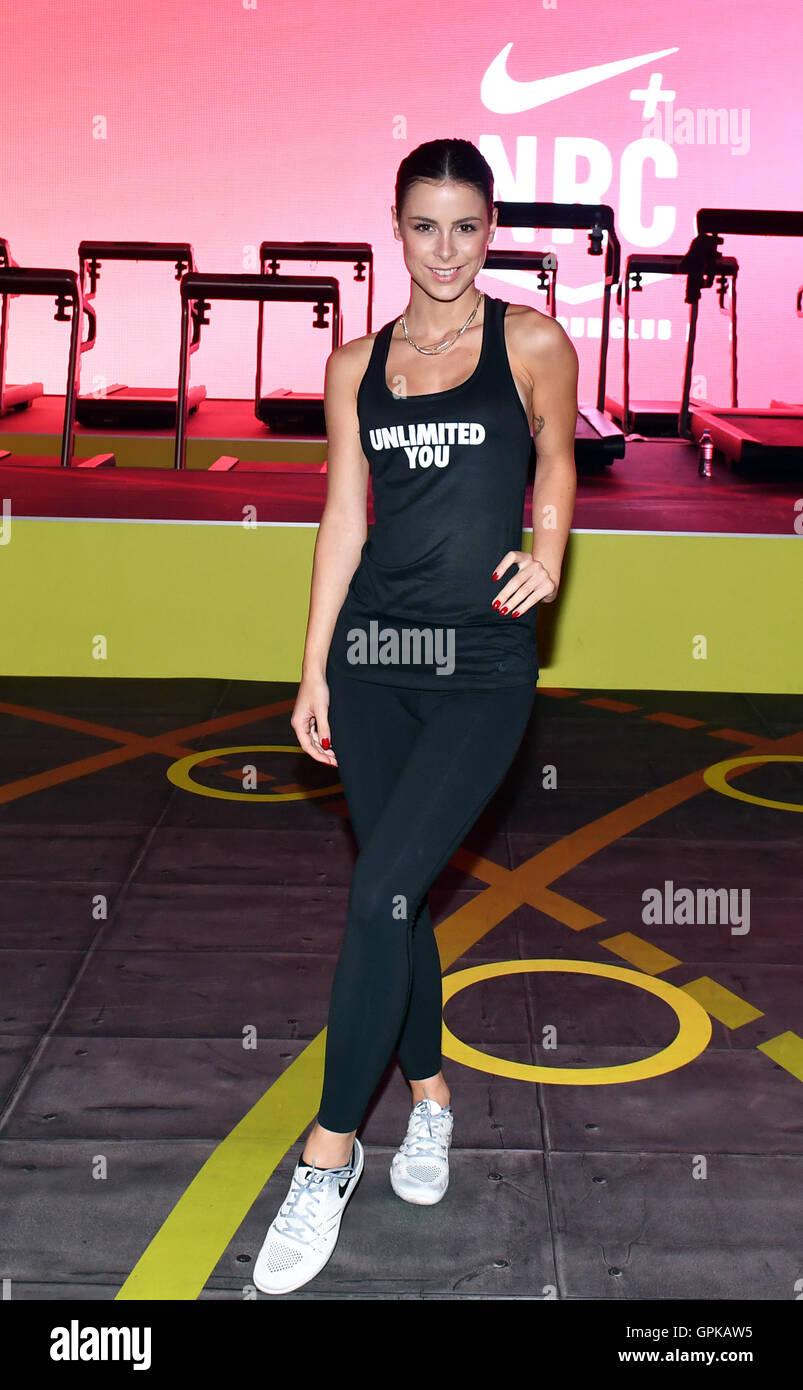 Berlin Treptow Deutschland 4 September 2016 Sängerin Lena Meyer