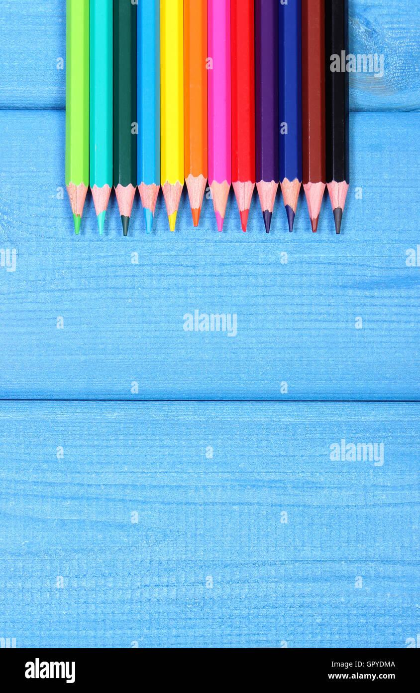 School Crayons Stockfotos & School Crayons Bilder - Seite 64 - Alamy