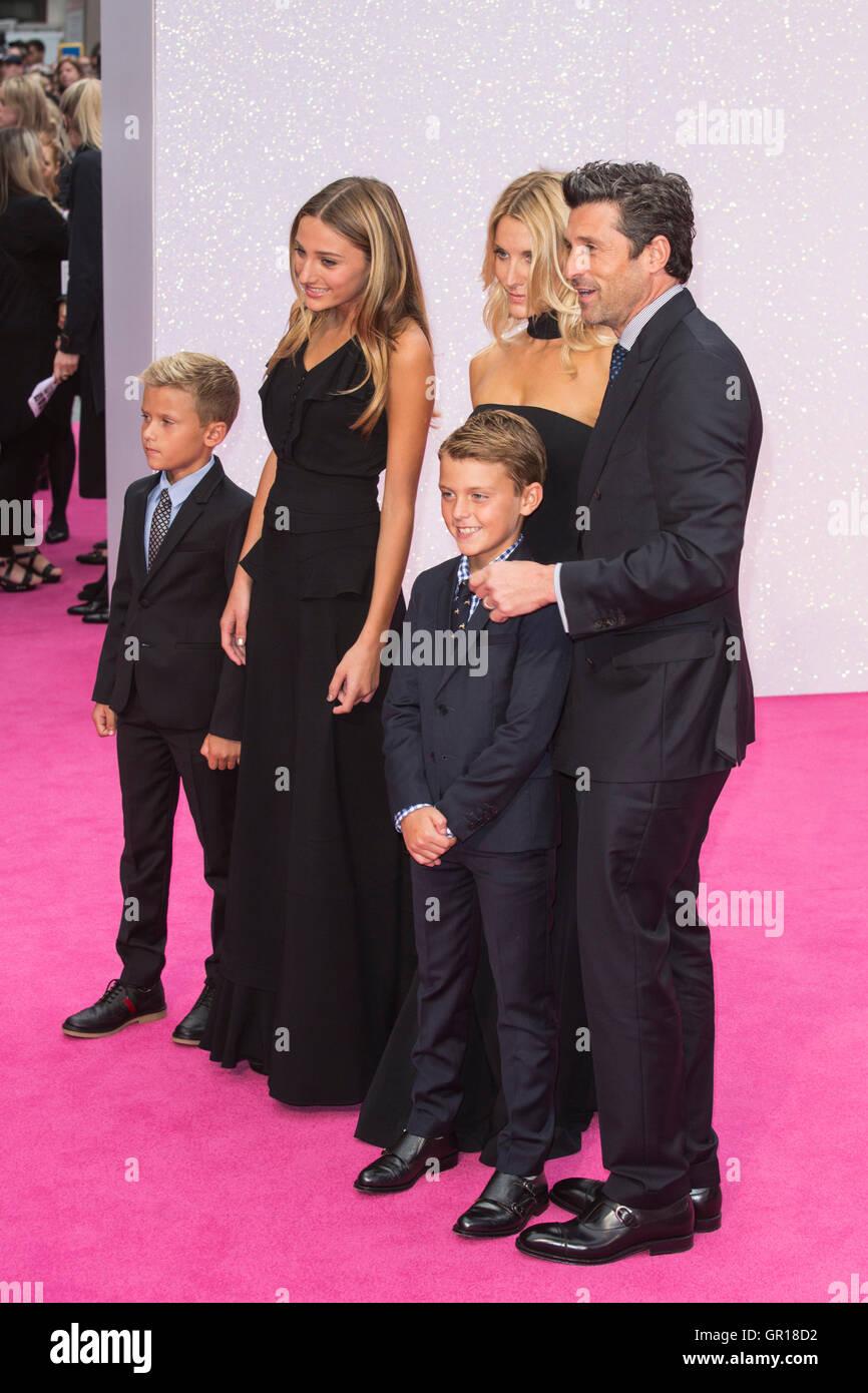 Patrick Dempsey And Jillian Dempsey Stockfotos Patrick Dempsey And
