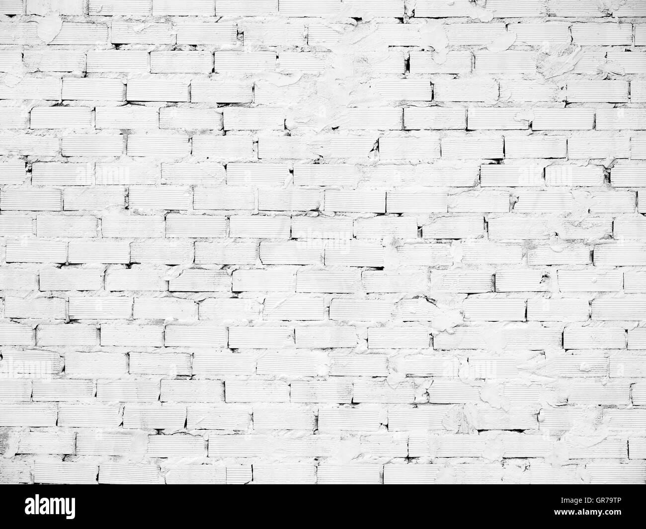 Weiße Mauer für Grunge Hintergründe und schreiben über Stockbild