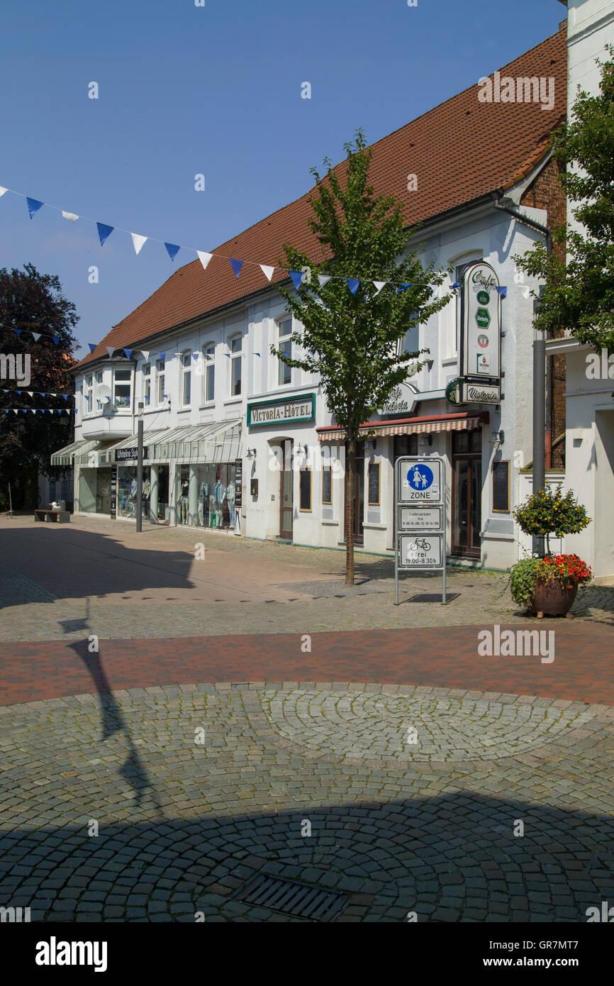 Stadt Varel Stockbild