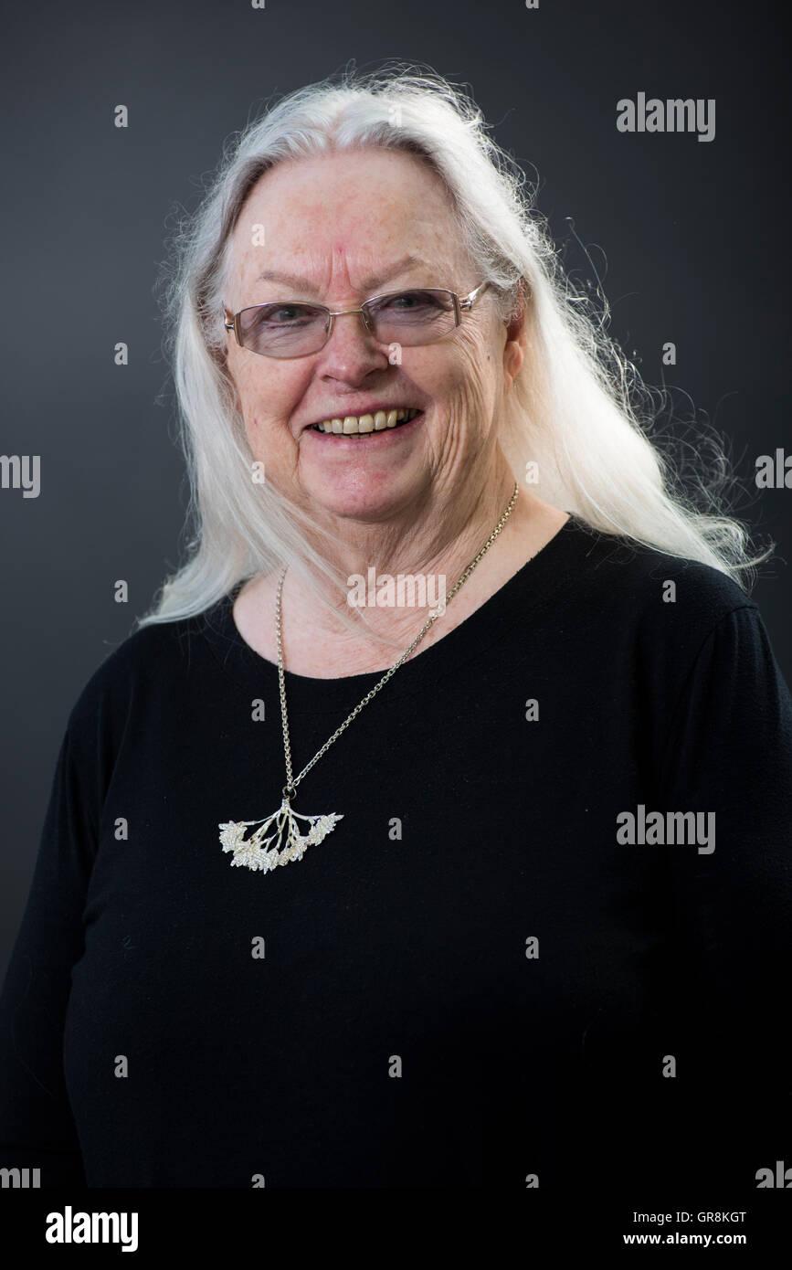 Walisische Dichter, Dramatiker, Editor, Sender, Lektor und Übersetzer Gillian Clarke. Stockbild