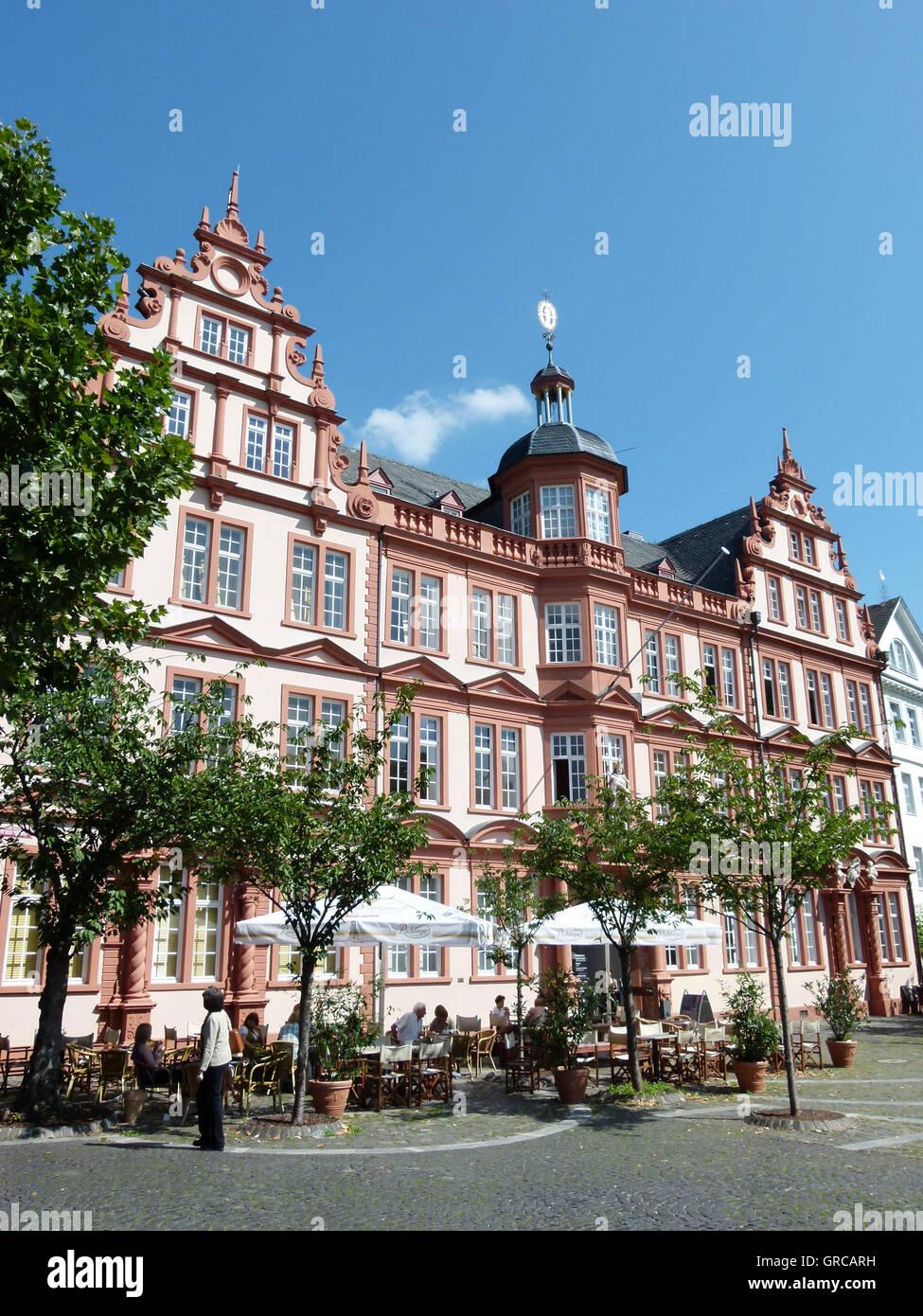 Haus Zum Römischen Kaiser Liebfrauenplatz Gutenberg Museum Und