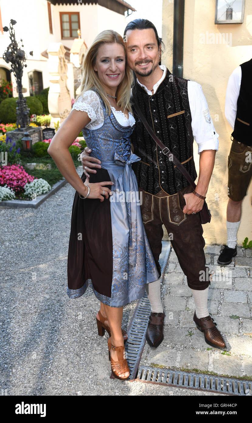 Rottach Egern Deutschland 08 Sep 2016 Sängerin Stefanie Hertel
