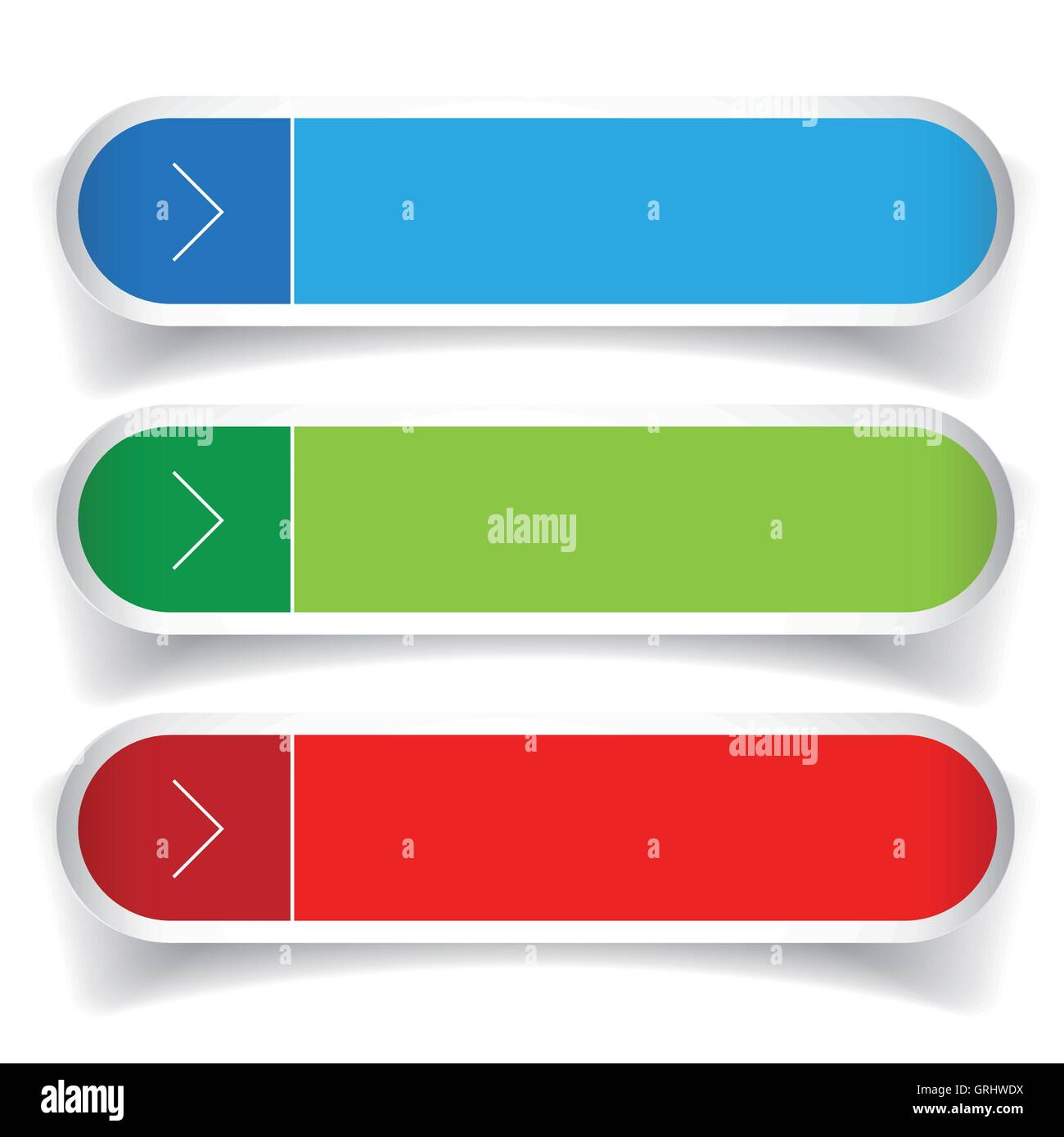 Rounded Banner Green Blue Gray Stockfotos & Rounded Banner Green ...