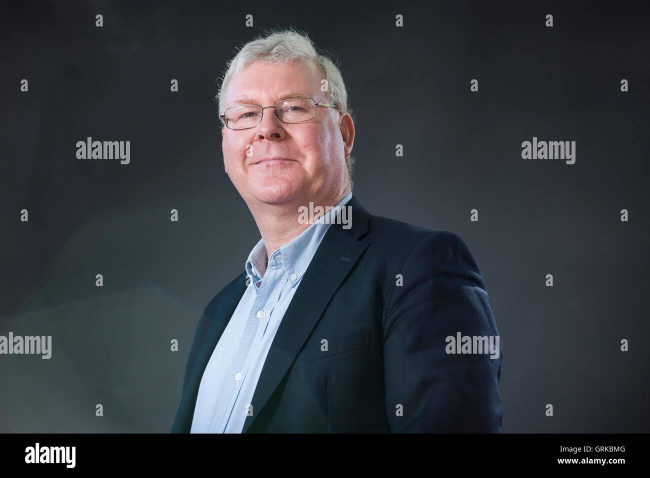 Englische Wissenschaftler an der University of Wolverhampton und militärischen Historiker Gary Sheffield. Stockbild