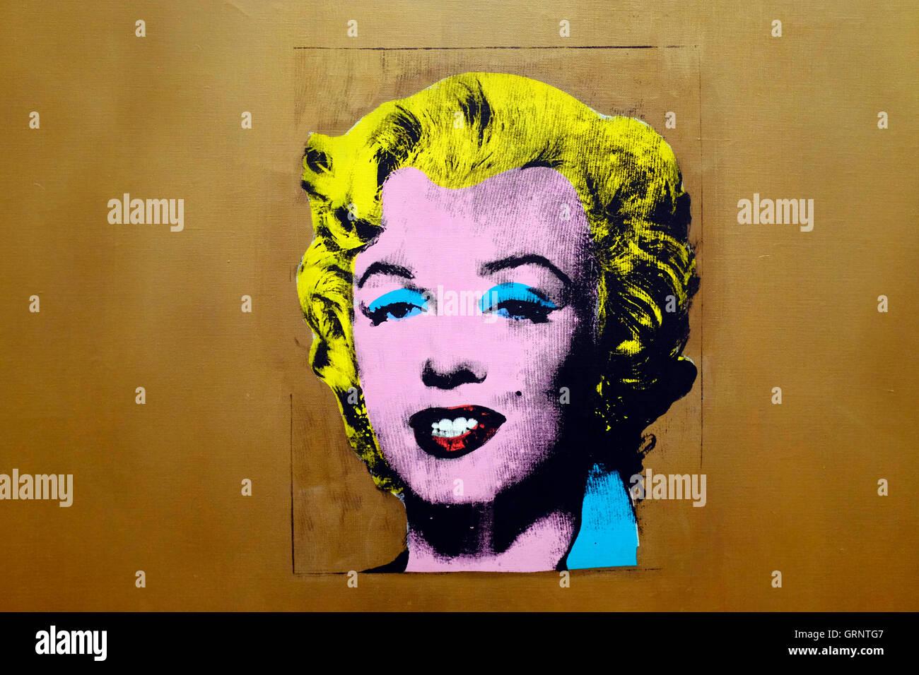 Andy Warhol Marilyn Stockfotos Andy Warhol Marilyn Bilder Alamy
