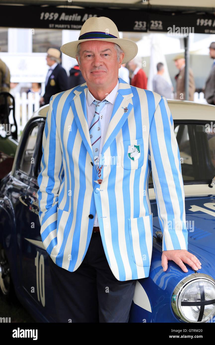 Chichester, UK. 09. Sep, 2016. Anthony Reid. Das Goodwood Revival ist eine dreitägige Festival jedes Jahr im Stockbild