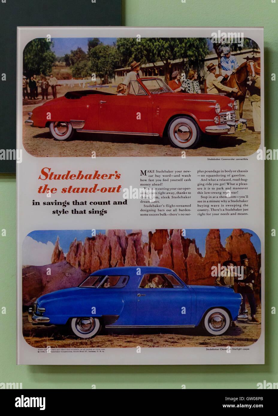 Car Advertisement Magazine Stockfotos Car Advertisement Magazine