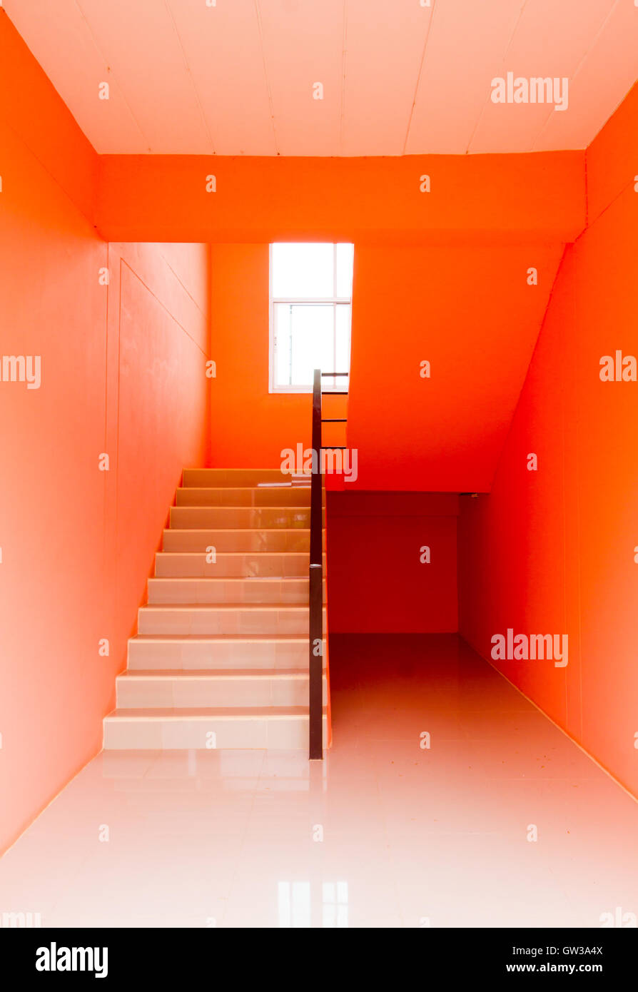Colors Architecture Stair Wall Stockfotos & Colors Architecture ...