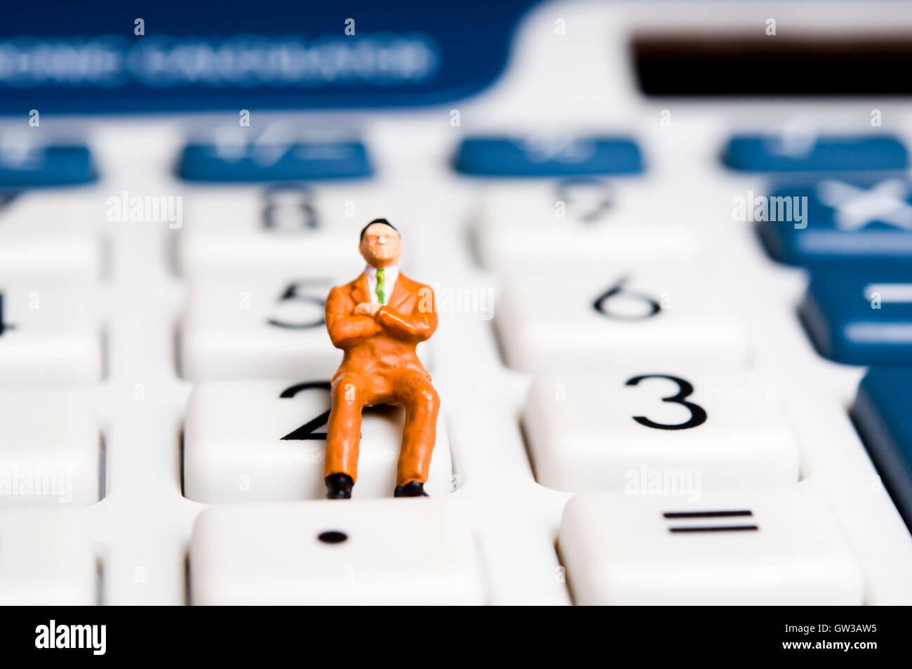 Finanz- und Rechnungswesen-Konzept Stockbild