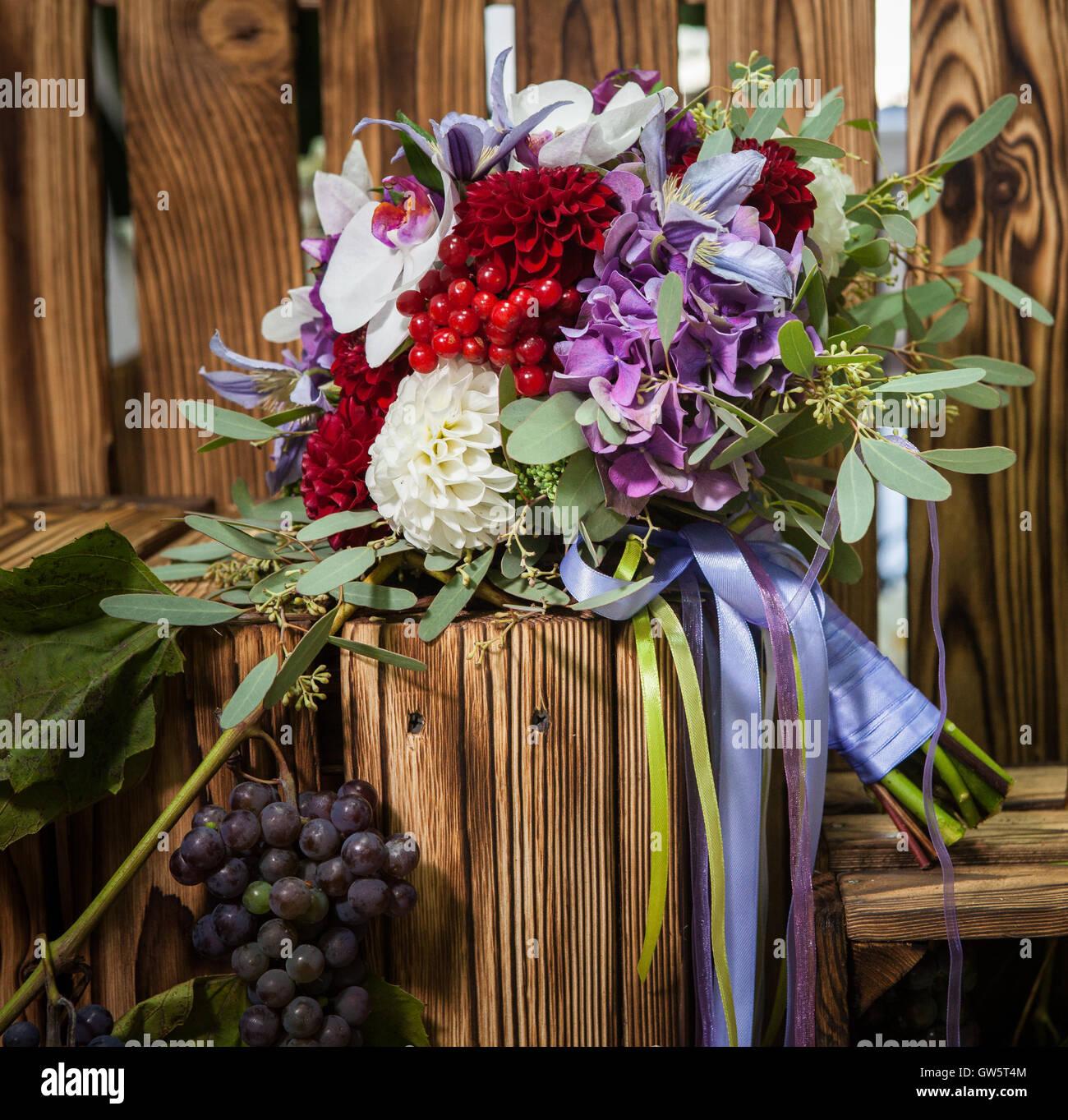 Hochzeit Im Herbst Blumen Stockfotos Hochzeit Im Herbst Blumen
