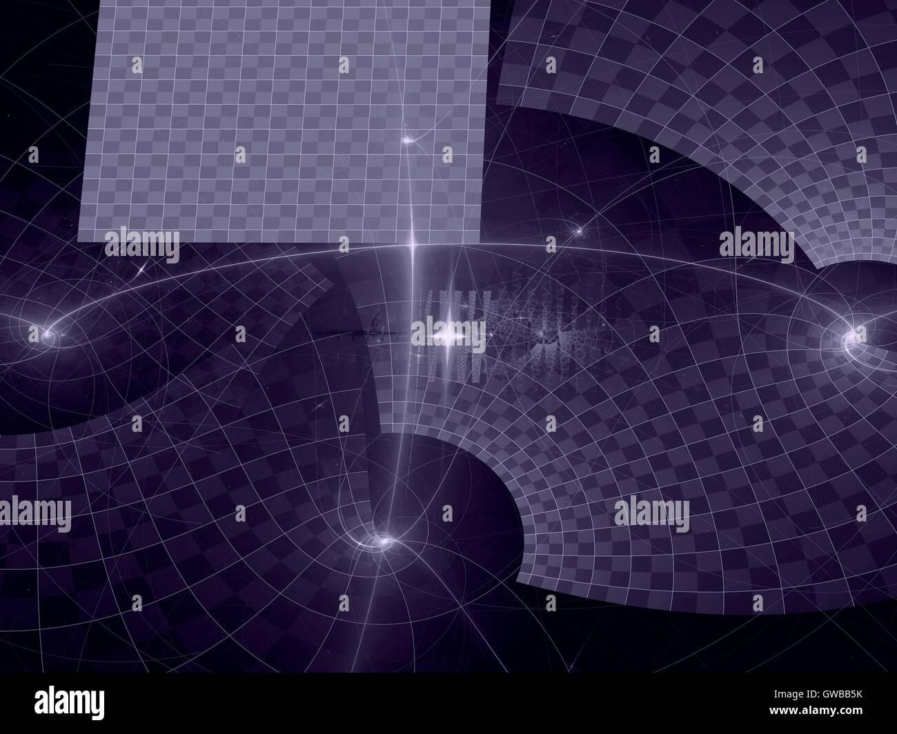 Abstrakt lila computergenerierten Hintergrund Stockbild
