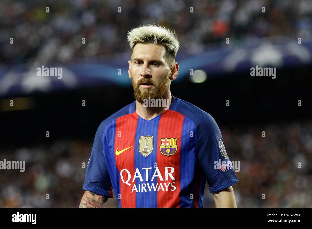 Camp Nou Barcelona Spanien 13 Sep 2016 Uefa Champions League