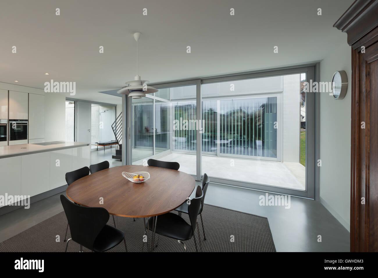 Schöne Esszimmer | Schone Innenraume Eines Modernen Hauses Esszimmer Stockfoto Bild