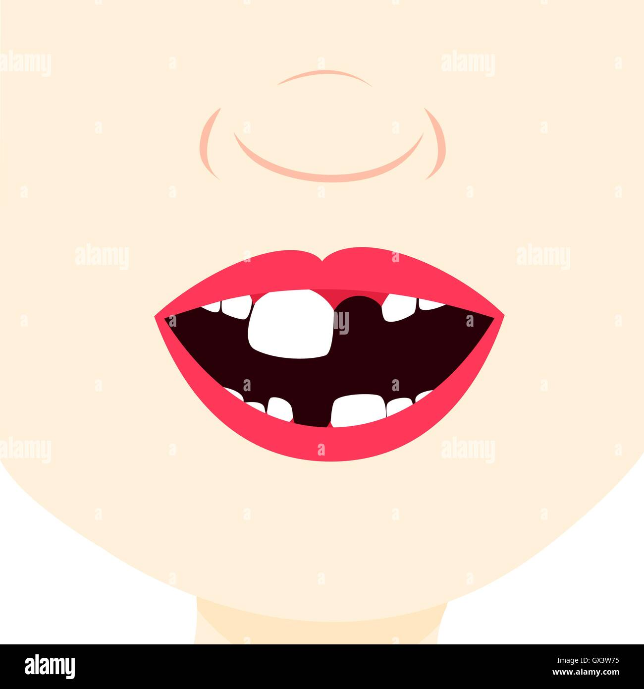 Mouth Vector Vectors Stockfotos & Mouth Vector Vectors Bilder - Alamy