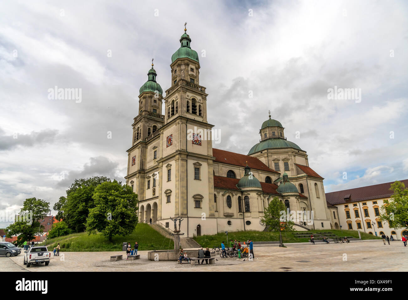 basilika st lorenz in kempten allg u bayern deutschland kirche st lorenz basilika in. Black Bedroom Furniture Sets. Home Design Ideas