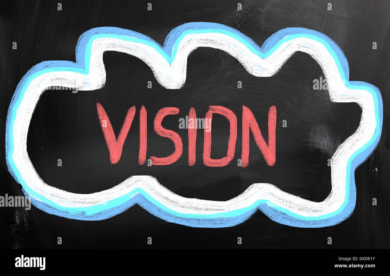 Vision Concept Stockbild
