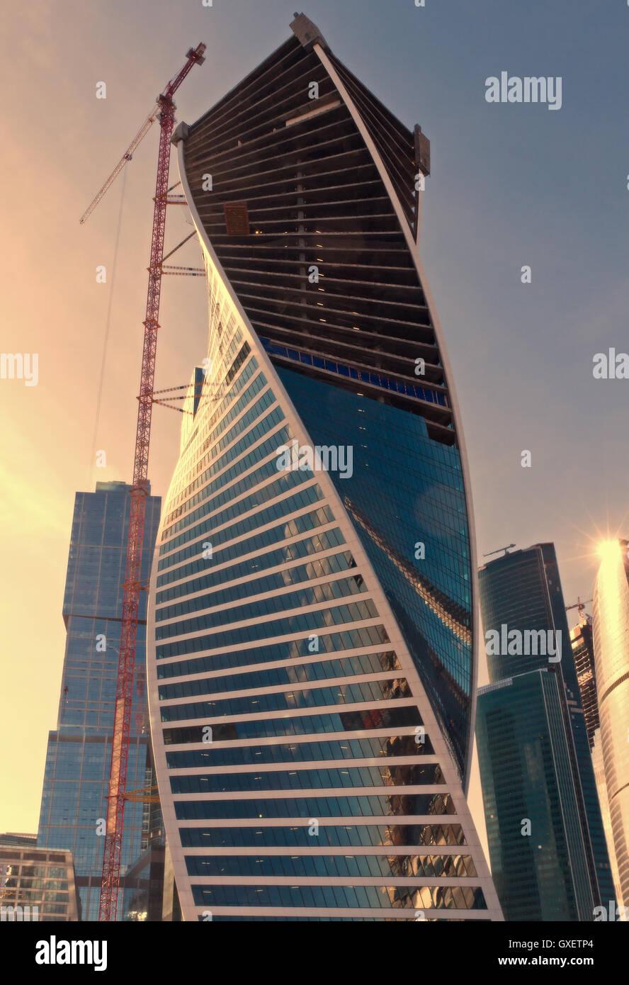 Moderne zeitgen ssische russische architektur for Moderne architektur gebaude