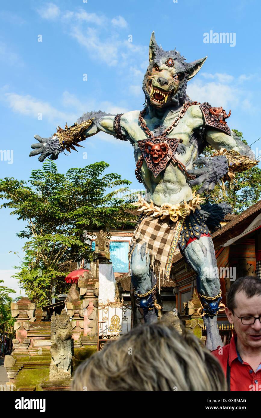 Ogoh Ogoh, Bali Stockbild